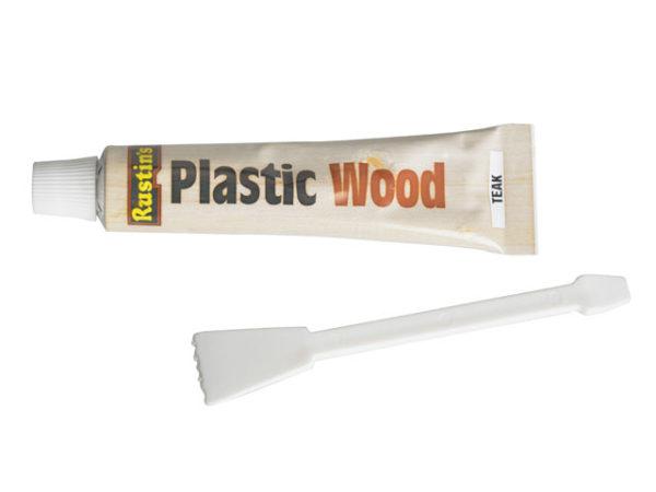 Plastic Wood Tube Teak 20g