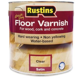Quick Dry Floor Varnish Gloss 1 litre