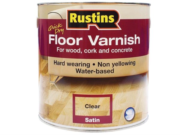 Quick Dry Floor Varnish Satin 2.5 litre