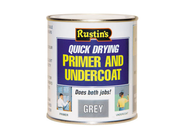 Quick Dry Primer & Undercoat Grey 1 Litre
