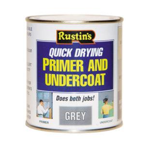 Quick Dry Primer & Undercoat Grey 500ml