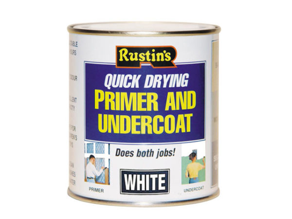 Quick Dry Primer & Undercoat White 1 Litre