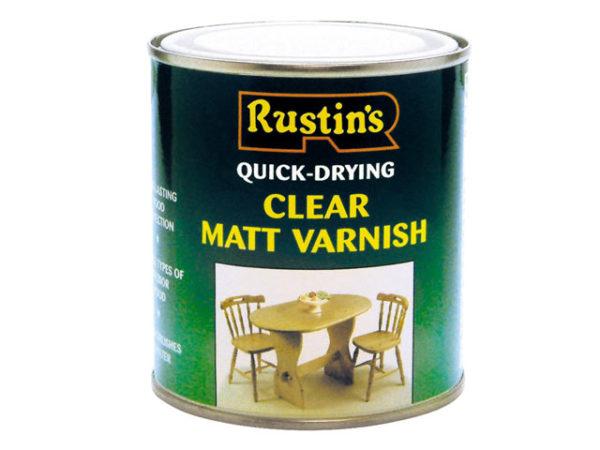 Quick Dry Varnish Matt Clear 1 Litre