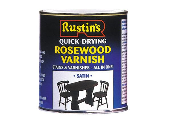 Quick Dry Varnish Satin Mahogany 250ml