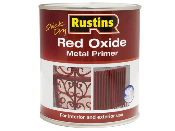 Quick Dry Red Oxide Metal Primer 500ml