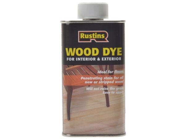 Wood Dye Red Mahogany 250ml