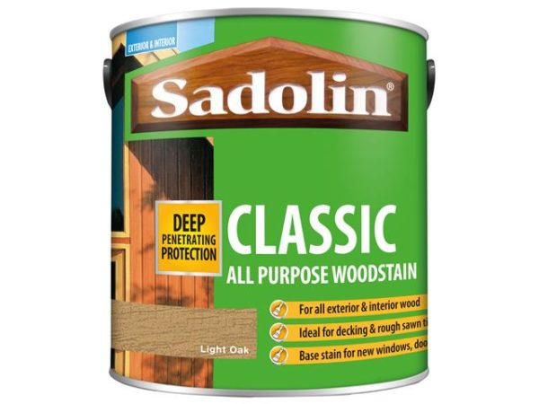 Classic Wood Protection Light Oak 2.5 litre