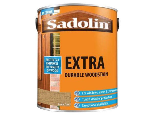 Extra Durable Woodstain Light Oak 5 litre