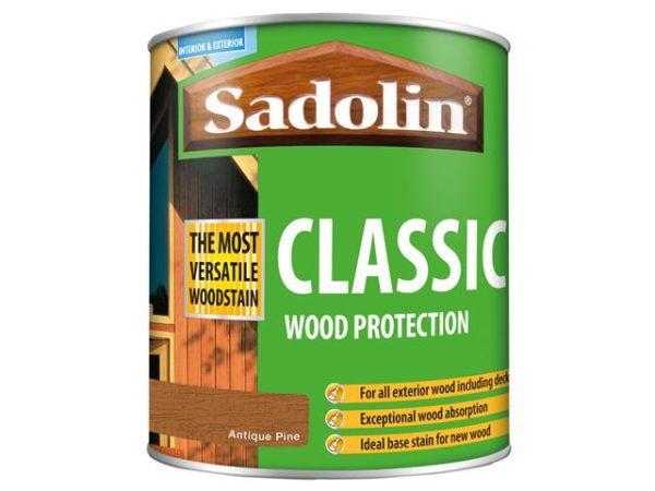 Classic Wood Protection Antique Pine 1 litre