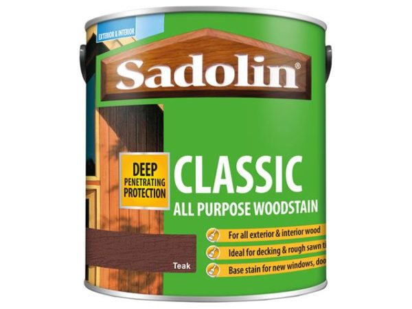 Classic Wood Protection Teak 2.5 litre
