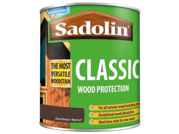 Classic Wood Protection Jacobean Walnut 1 litre
