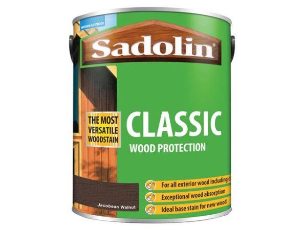 Classic Wood Protection Jacobean Walnut 5 litre