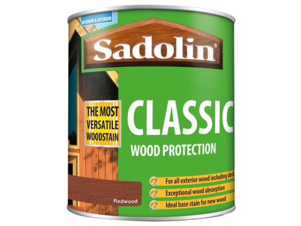 Classic Wood Protection Redwood 1 litre