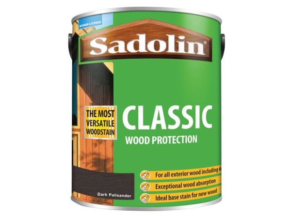 Classic Wood Protection Dark Palisander 5 litre