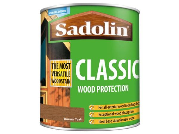 Classic Wood Protection Burma Teak 1 litre