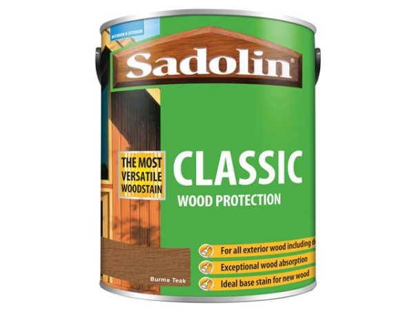 Classic Wood Protection Burma Teak 5 litre