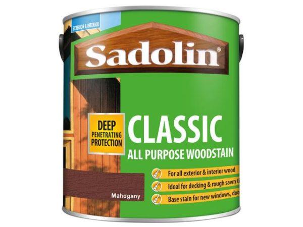 Classic Wood Protection Mahogany 2.5 litre