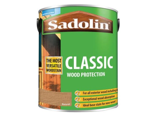 Classic Wood Protection Natural 5 litre