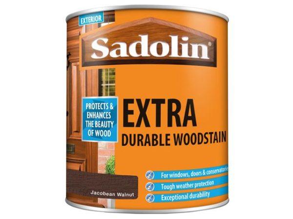 Extra Durable Woodstain Jacobean Walnut 1 litre