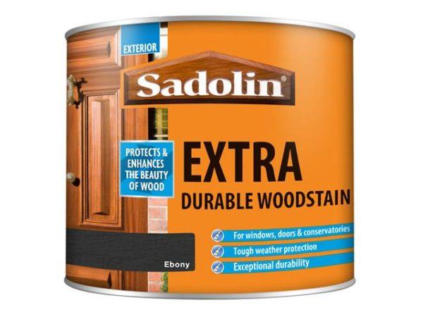 Extra Durable Woodstain Ebony 500ml