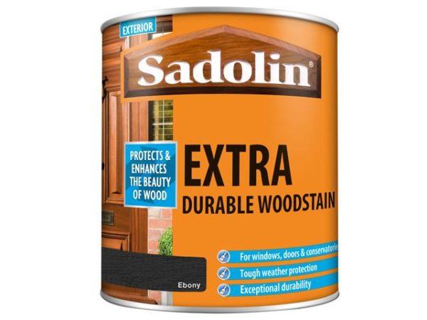 Extra Durable Woodstain Ebony 1 litre
