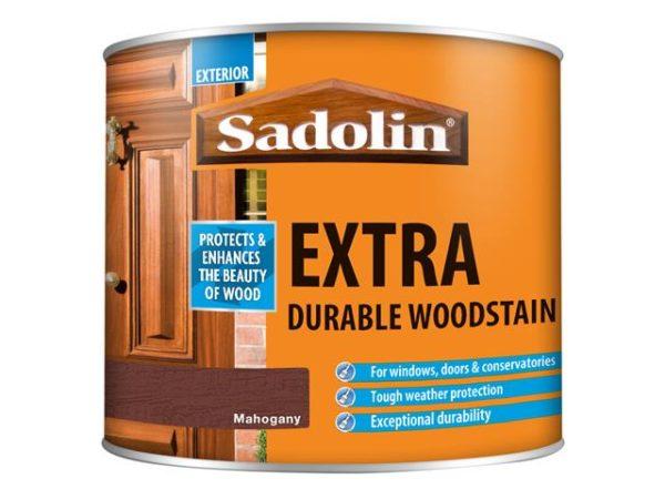 Extra Durable Woodstain Mahogany 500ml