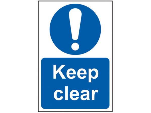 Keep Clear - PVC 200 x 300mm