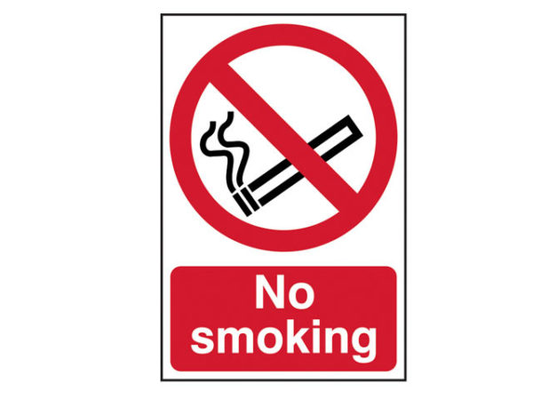No Smoking - PVC 200 x 300mm
