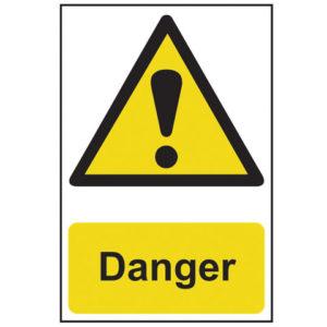 Danger - PVC 200 x 300mm