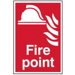 Fire Point - PVC 200 x 300mm