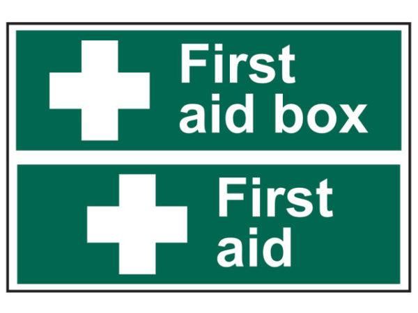 First Aid Box / First Aid - PVC 300 x 200mm