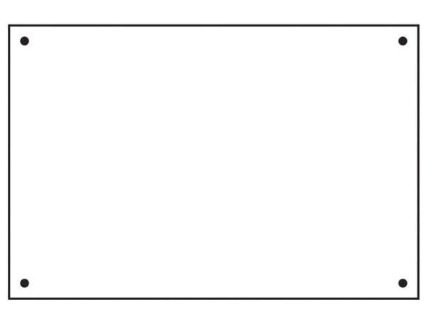 Rigid Backing Board - FMX 600 x 400mm