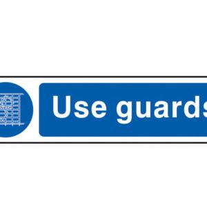 Use Guards - PVC 200 x 50mm