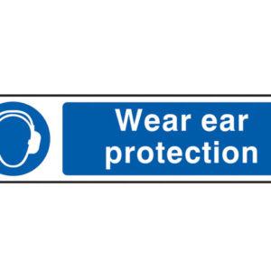 Wear Ear Protection - PVC 200 x 50mm