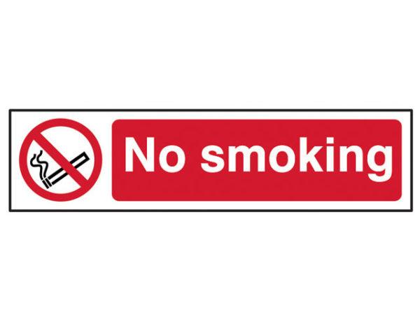 No Smoking - PVC 200 x 50mm