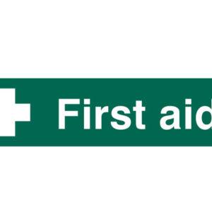 First Aid - PVC 200 x 50mm