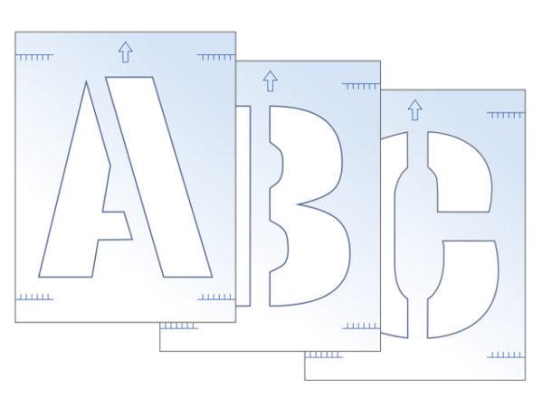 Letter Stencil Kit 300mm