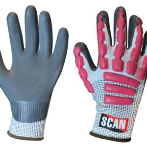 Anti-Impact Latex Cut 5 Gloves - Extra Large (Size 10)