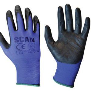 Max. Dexterity Nitrile Gloves - Medium (Size 8)