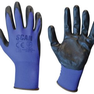 Max. Dexterity Nitrile Gloves - Extra Large (Size 10)