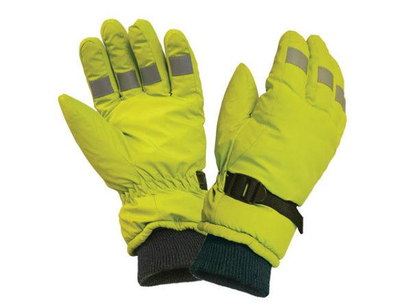 Hi-Visibility Gloves Yellow - Large