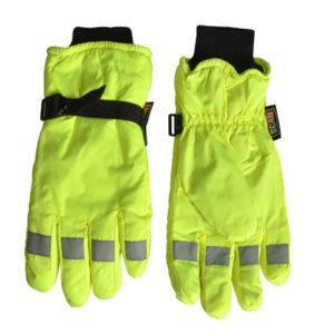 Hi-Visibility Gloves Yellow - Extra Large
