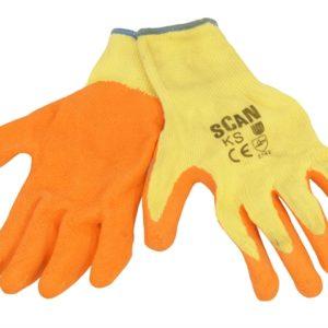 Knitshell Latex Palm Gloves - Medium (Size 8)