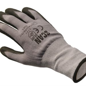Breathable Microfoam Nitrile Gloves - Large (Size 9)