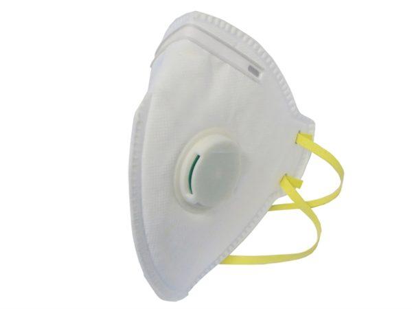 Fold Flat Valved Disposable Mask FFP1 (Pack of 3)