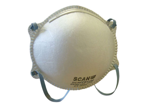 Moulded Disposable Mask FFP2 Protection (Pack 3)