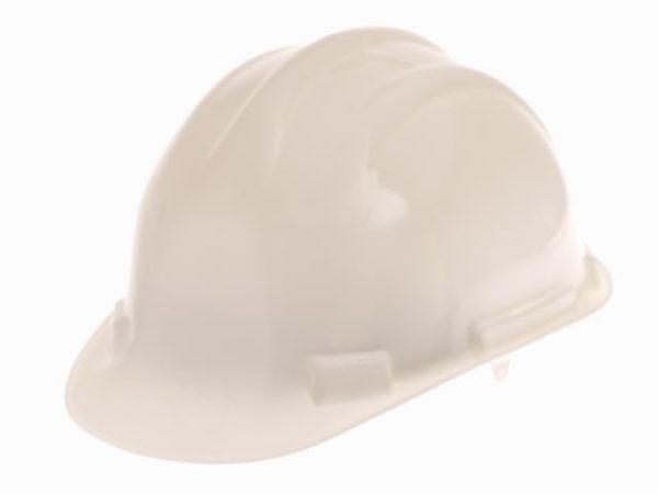 Deluxe Safety Helmet White
