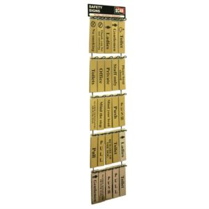 Signs Display - 100 Signs (Metal)