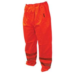 Hi-Vis Orange Motorway Trousers - L (40in)