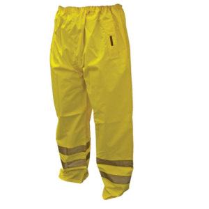 Hi-Vis Yellow Motorway Trousers - L (40in)